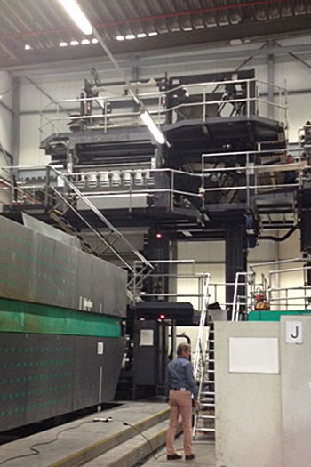 Upgraded folder structure at Mercator Press, Belgium